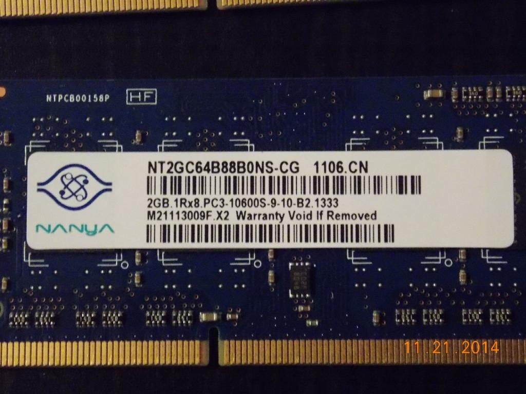 Laptop Memory SO-DIMM DDR2 / DDR3