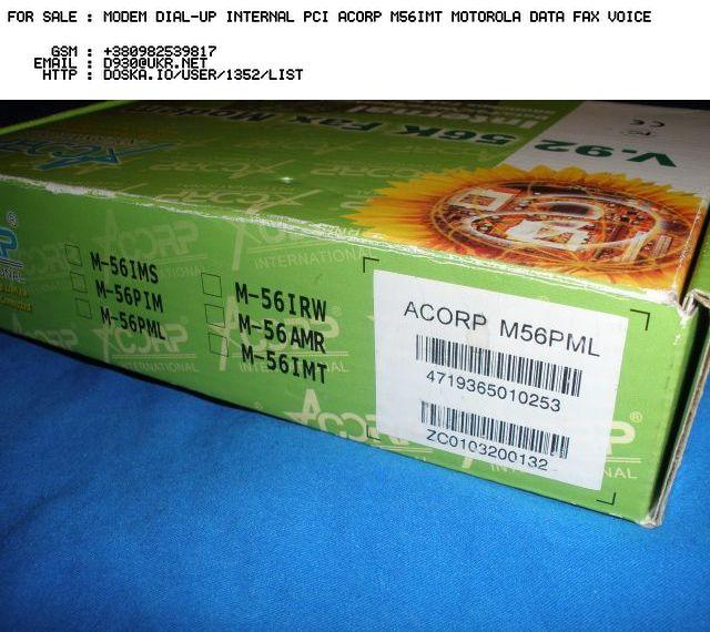 ACORP M-56AMR WINDOWS 10 DRIVER DOWNLOAD