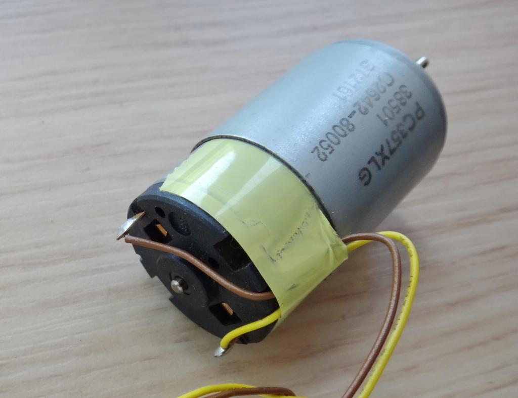 Электромотор Johnson PC357XLG Motor от 3В до 15В (оригинал) HP C2642-80052