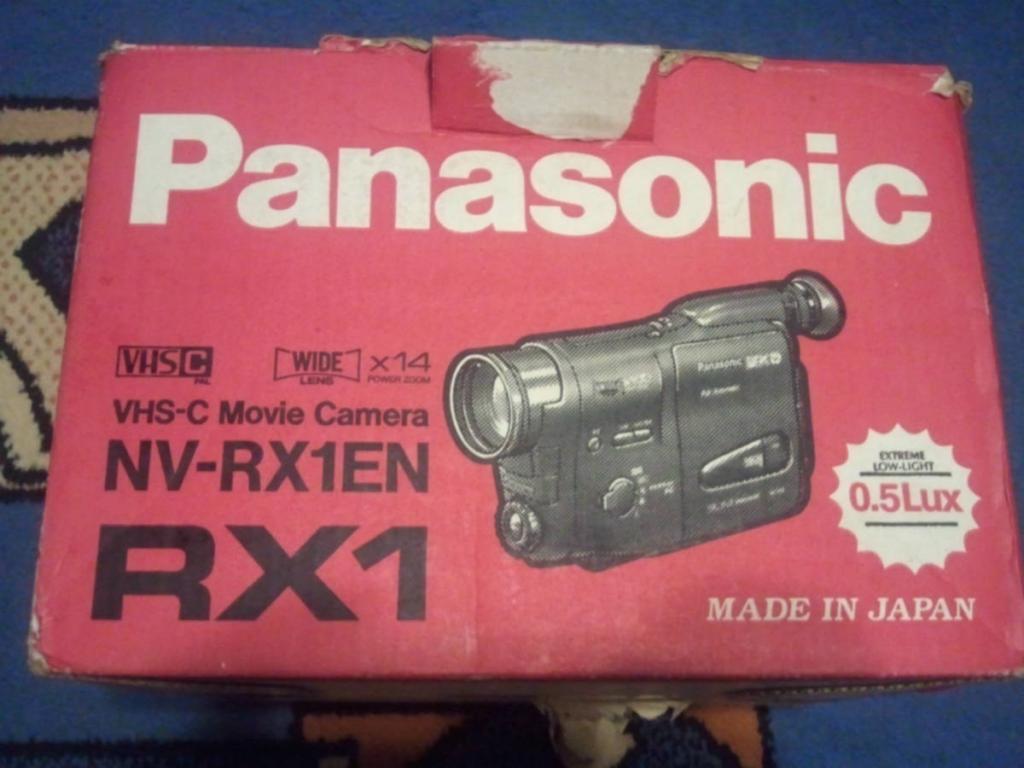Видеокамера Panasonic NV-RX1