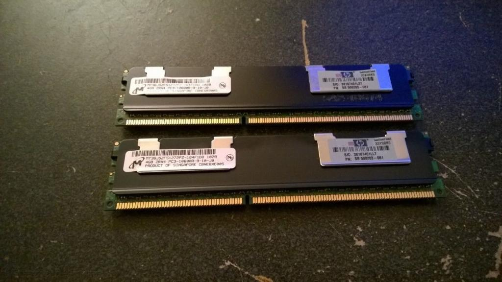Серверная память 4Gb PC3-10600R DDR3 1333MHz ECC REG