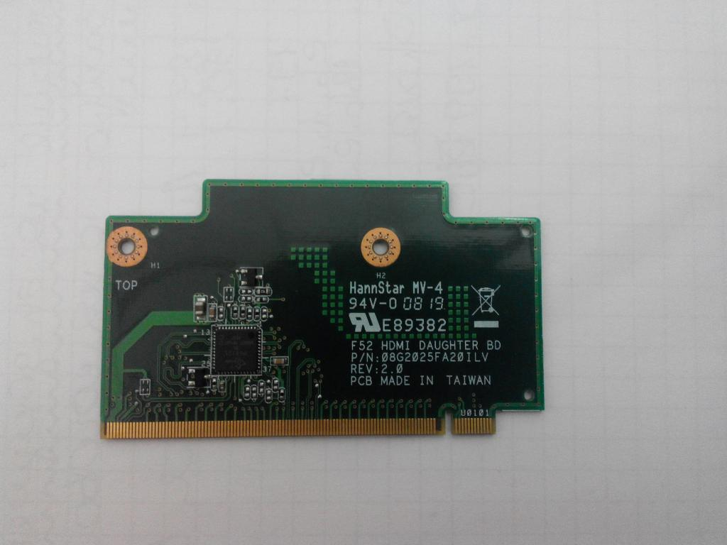 Lenovo Ideapad Y530 HDMI Daughter Board Card F52