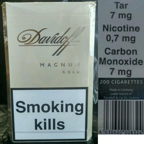 Images of Davidoff Cigarettes Nicotine And Tar - #rock-cafe