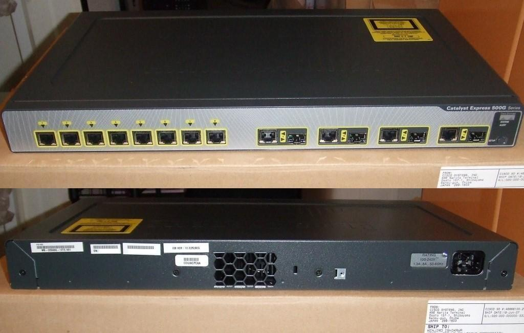 Коммутатор Cisco Catalyst WS-CE500G-12TC 12-Gigabit Port