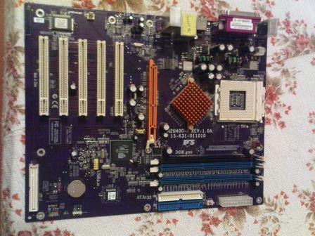 Продам рабочую Socket 462 для AMD K7 Athlon XP/Sempron/Athlon/Duron